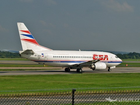 ČSA airlines, autor: Ingy The Wing