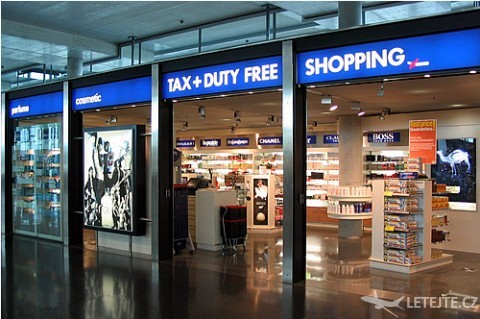 Duty free shop, autor: Coolcaesar
